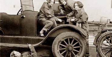 Long time ago it was unheard of for women to be auto mechanics.
