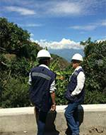 Construction in the Mountains