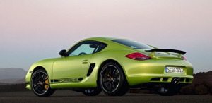 2011 Porsche Cayman R Lime Green