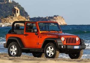 Wrangler Rubicon Red