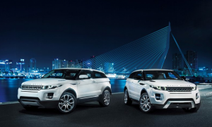 2012 Range Rover Evoque White Twins