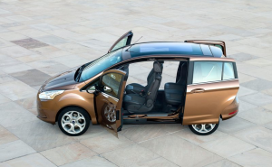 Ford B-max sliding doors