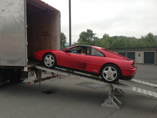 car shipping pick up