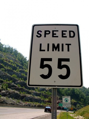 interstate speed limits