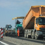 summer highway construction