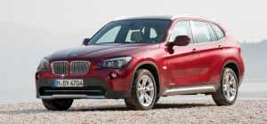 BMW X1 front end