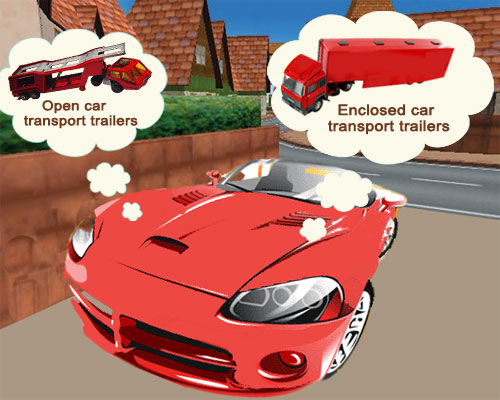 Open or enclosed car shipping for your exotic car.