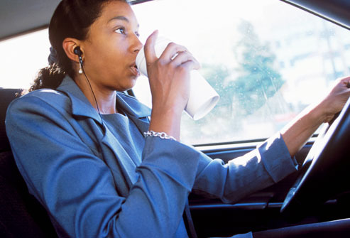 Coffee while driving-iFoodTV