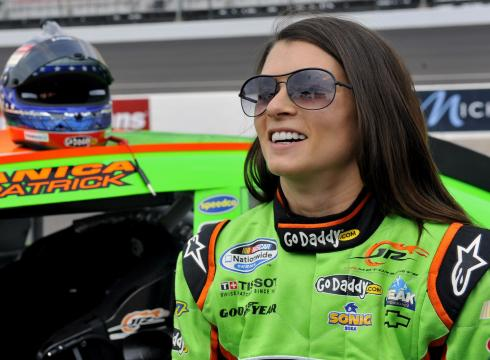 Danica Patrick hitting the road in Indy