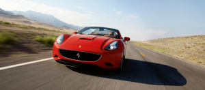 Ferrari California front end