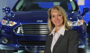 Women in top positions are often seen in Ford