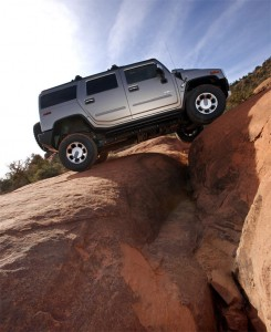 Hummer one of the best off-road vehicles