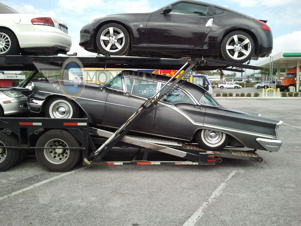 Shipping 1957 Oldsmobile 98 Montway Auto Transport