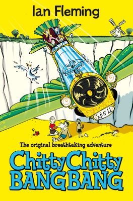 Chitty Chitty Bang Bang © Ian Fleming Publications 1964, is published in the UK by Pan Macmillan.  The cover illustration is by Joe Berger.