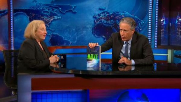 Rosabeth Moss Kanter on The Daily Show, May 27, speaking to the need for infrastructure reform