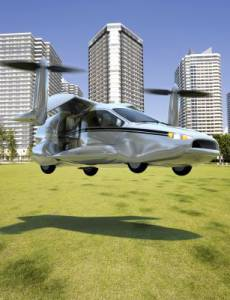 The TF-X™ vision of the future of personal transportation (photo credit Terrafugia).