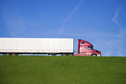 American truck drivers are on the move every day to bring us our goods!