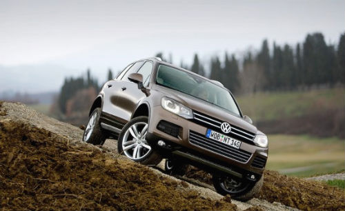 Volkswagen Touareg off road vehicle