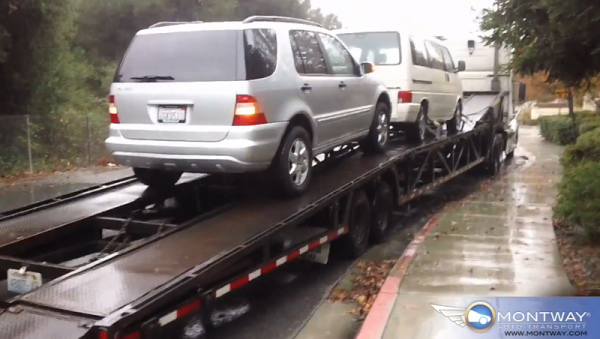 mercedes auto transport