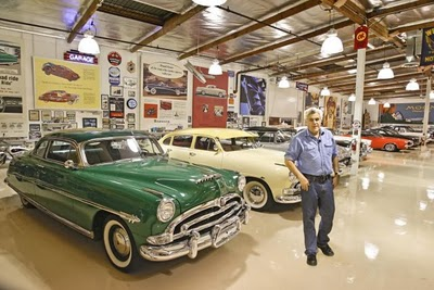 Jey Leno's 17,000 sq foot garage