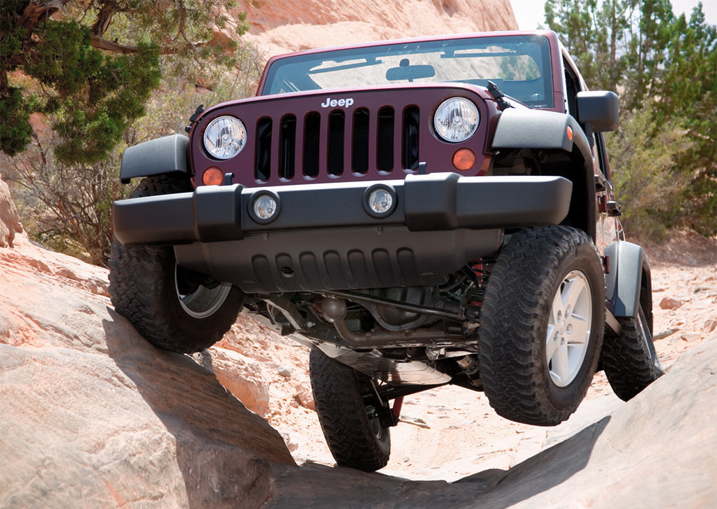 Jeep Wrangler possibly the best off road vehicle