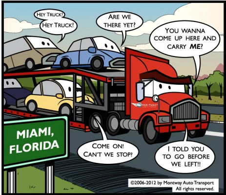 Montway Auto Carriers roam the American roads every day!