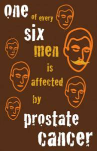 Montway for Movember - one of every six men is affected by prostate cancer.