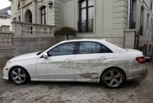 used car with water damage